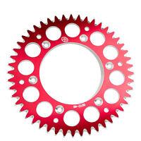 Primary Drive Rear Aluminum Sprocket 50 Tooth Red for Honda CRF150R 2007-2009