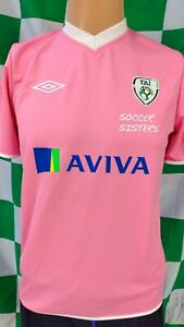 Republic of Ireland Official Umbro Girls Football Jersey (Youths 13-14 Years)