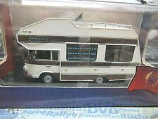 BARKAS Bus Van B1000 B 1000 Wohnmobil Camper 1973 DDR weiss braun IXO IST 1:43