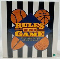 2000 Rules of the Game Board Game by Hasbro New FREE SHIPPING