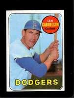 1969 TOPPS #615 LEN GABRIELSON EX DODGERS  *XR12121