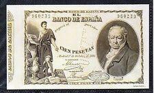 España Billete del año 1886 edición facsímil (DA-338)
