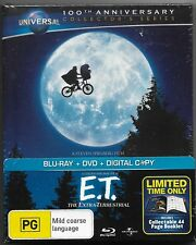 E.T. - The Extra Terrestrial (Blu-ray/Dvd DigiBook 2012, )New Region B