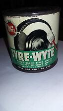 Whiz Tyre Wyte Tin can