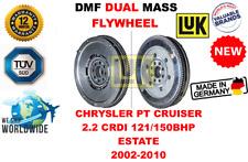 FOR CHRYSLER PT CRUISER 2.2 CRDI ESTATE 2002-2010 NEW DUAL MASS DMF FLYWHEEL