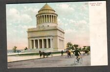 unmailed post card President Ulysses S Grant's Tomb NY/people bicycles horses
