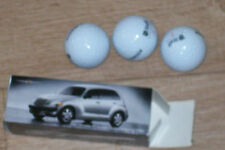 set of 3 golf balls Staff Titanium 2. Chrysler PT Cruiser