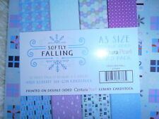 A3 centura card from crafters companion (softly falling - 20 double sided) - new