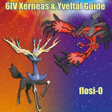 6IV Shiny Xerneas & Yveltal Event Pokemon Guide [Sun/Moon/Ultra SM]