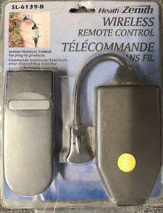 Heath Zenith Wireless Remote Control SL 6139 B Indoor/Outdoor Plug-In Products