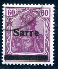 SARRE 1920 14ai estampillé parfaitement certificat médical BURGER BPP 1000 € (z8350b