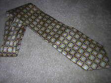 Viagra Pfizer Tie Blue/Yellow/Navy Pattern Tie