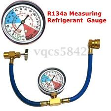 Recharge Measuring Refrigerant Hose Car Auto Air Conditioning AC R134A Gauge Kit