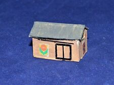 "Z Scale Building Small Shack House - approximately 1 1/4"" wide by 3/4"" tall"