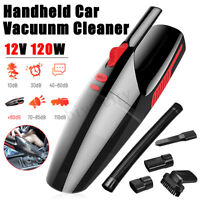 Car Vacuum Cleaner 12V 120W For Auto Portable Wet Dry Dirt Dust Handheld Duster