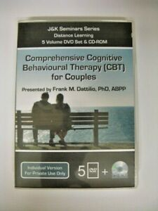 CBT FOR COUPLES ~PSYCHOTHERAPY ~THERAPIST TRAINING ~PSYCHOLOGY~5 DVD +CD -ROM
