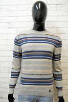 Maglione Uomo Trussardi Taglia M Slim Pullover Cardigan Felpa Cashmere Sweater