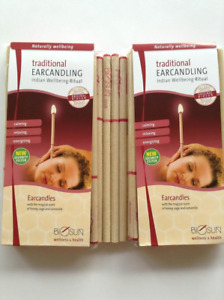 BIOSUN TRADITIONAL EAR CANDLES - Twenty Pairs, Made in Germany