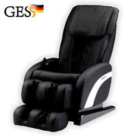 Electric massage chair for home relax body Comfort (black)