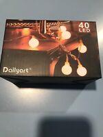 Dailyart 40 LED Warm White Fairy Lights 13ft Long