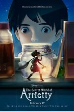 Secret World of Arrietty - original DS movie poster - 27x40 D/S Advance Ghibli