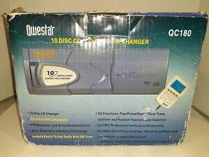 Qwestar QC180 10 DISC CD/CD-R/CD-RW/ CHANGER