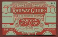 Railway Guides pt.1.  Dalkeith Postcards Set mv.30