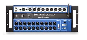 Soundcraft Ui24r Digital mixer & Road Case