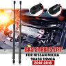 1 Pair Gas Struts Lift Suit For Nissan Micra Boot Hatch K13 series 2010-2018