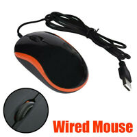 Optical LED Wired Gaming Mouse Mice With USB Cable Laptop Computer Accessories