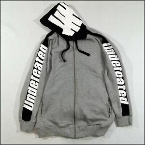 Undefeated Full-Zip Hoodie | XL | Grey/Black | Rare