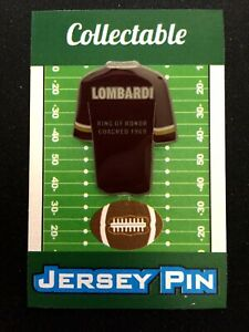 Washington Redskins Vince Lombardi jersey lapel pin-Collectible-Ring of Honor-69