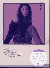 TAEYEON-VOICE (TYPE-B)-JAPAN CD+DVD+BOOK Ltd/Ed J45