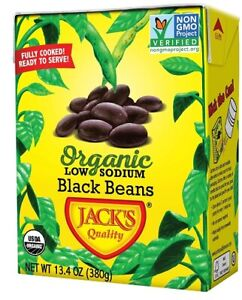 Jack's Quality Organic Low Sodium Black Beans