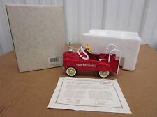 Hallmark Kiddie Car Classics Murray Fire Truck Red diecast