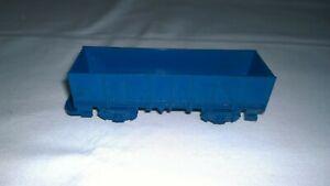 Hornby clockwork railway blue wagon
