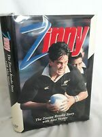 Zinny The Zinzan Brooke Story SIGNED COPY First Edition NZ All Blacks