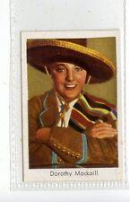(Jd3711) SALEM,FILM STARS,DOROTHY MACKAILL,1930,#141