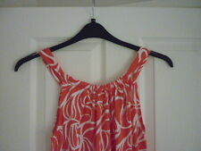 BODEN FRANCES JERSEY DRESS CORAL REEF SWIRL. UK 16, EUR 42-44, US 12. WW280