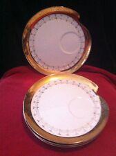 """Royal Crown Celestial Appetizer 9"""" Plates Includes 4 Very Unique & RARE"""