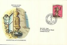 (52502) FDC Luxembourg Architectural Art 1979