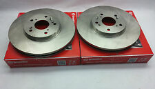 2-Brembo 25830 Front Disc Brake Disc / Rotor Set  Honda Civic Acura RSX