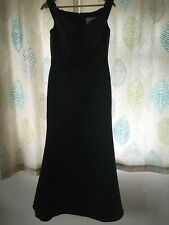 Alexia Black Sequin Detail evening Full Length Gown Prom Dress Satin Look 12