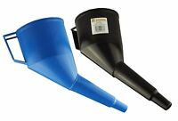 Fuel funnels (PACK OF 2) with filter,oil,fuel,water -AVOID CROSS CONTAMINATION-