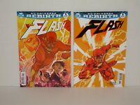 Flash 2016 Rebirth #1A + #1B (NM- or 9.2) - Sold Out!