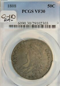 1808 PCGS VF30 Overton O-110. Rare Variety. Choice for Grade.