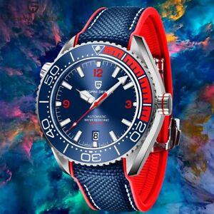 PAGANI DESIGN Brand Sports Mechanical Ceramic Bezel Waterproof Automatic Watch