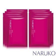 Naruko Rose & Botanic HA Aqua Cubic Hydrating Facial Mask EX 10pcs Moisturizer