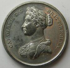 Great Britain_Queen Caroline death medal_1821