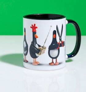 Official Feathers McGraw Line Up Mug With Black Handle